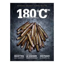 revue cuisine 180 c des recettes et des hommes un mook entre livre et revue