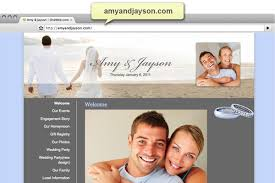 wedding websites free make a wedding website with no coding add a gift registry
