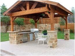 backyards cozy backyard kitchen design ideas outdoor kitchen