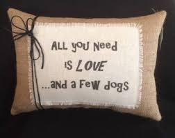 burlap throw pillows etsy