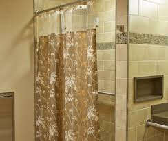 Cloth Shower Curtains Shield By Panaz Antimicrobial Fabric Shower Curtains Inpro