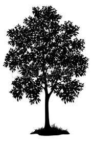oak tree silhouette logo clipart panda free clipart images eaapaq
