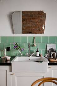 Green Tile Kitchen Backsplash by Retro Mint Green Kitchen Amazing Home Decor
