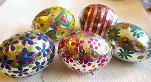 metallic easter eggs 10 inspired ideas for decorating and dyeing easter eggs child s