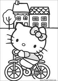 drawings paint u0026 colour kitty print design 001