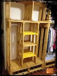 Open Clothes Storage System Diy Best 25 Pallet Closet Ideas On Pinterest Pallet Wardrobe