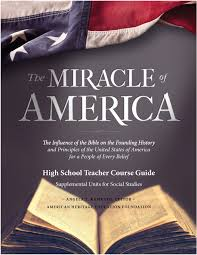 high school history book miracle of america course guide cover jpg