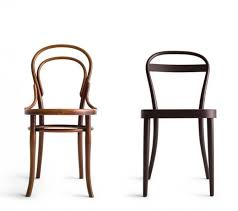 chaises thonet chaises thonet reedition 2008 muji et original 18591 thonet