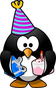 clipart party penguin