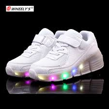 heelys light up shoes wheely s new arrive children heelys shoes kids roller shoes with