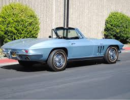 1966 corvette trophy blue 1966 corvette big block convertible for sale