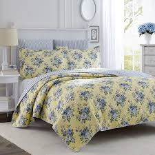 amazon com laura ashley linley quilt set twin home u0026 kitchen