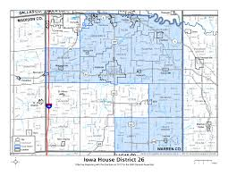 iowa house of representatives district 26 iowa house of