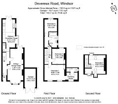 Windsor Castle Floor Plan by 4 Bed Terraced House For Sale In Devereux Road Windsor Berkshire