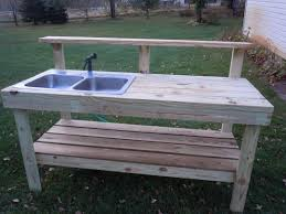 Outdoor Camping Sink Station by Backyard Gear Water Station Plus Outdoor Sink All About Home Design