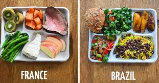 what school lunches look like around the world food