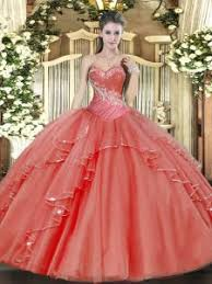 quinceanera dresses coral coral quinceanera dresses 2018 for less