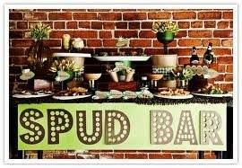 Mashtini Bar Toppings Mashed Potato Bar Weddings Planning Wedding Forums Weddingwire