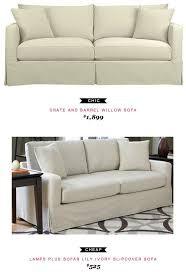Best Slipcovered Sofas by Ivory Luxe Sofa Slipcover Best Home Furniture Decoration