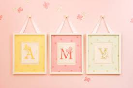Diy Baby Girl Nursery Decor by Stampin U0027 Up Wall Art