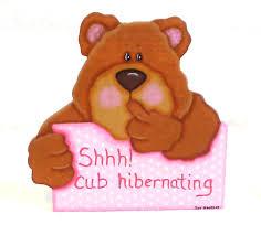 bears hibernating clipart 32