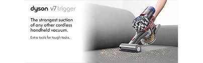 Dyson Hand Vaccum Amazon Com Dyson V7 Trigger Cord Free Handheld Vacuum