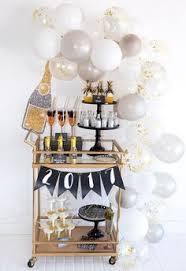 nye party kits new year s bar cart party bar carts apartment living and bar