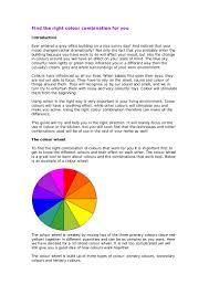 Great Colour Combinations Colour Combinations