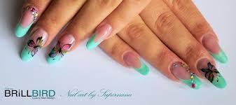 dessin sur ongle en gel french gel nail art by supernana page 2