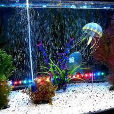 5 colour a set for artificial jellyfish fish aquarium