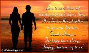 anniversary ecards free walk together free for him ecards greeting cards 123 greetings