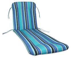 Blue Chaise Lounge Comfort Classics Sunbrella Chaise Lounge Cushion Hayneedle