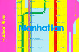 Mya Subway Map by Design Duo Remixes The Mta Subway Map With The U0027wrong Colors