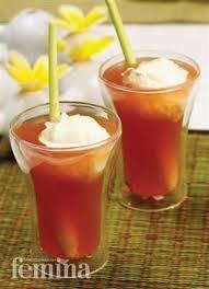 Teh Detox minuman kesehatan teh serai cooking recipies