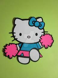 hello kitty cheerleader by ayjah on deviantart