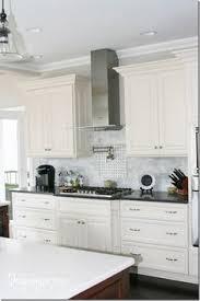 White Cabinet Kitchen Design Kitchens White Cabinets Steel Gray Granite Carrara Marble