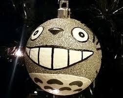 totoro ornament etsy