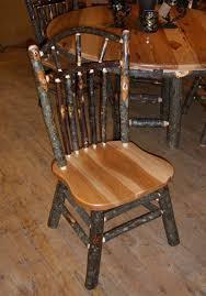 Log Dining Room Table 61 Best Hickory Log Furniture Images On Pinterest Log Furniture