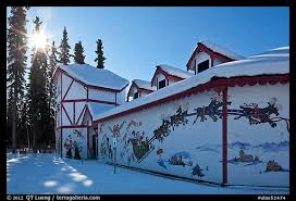 santa claus house north pole ak picture photo santa claus house and sun in winter north pole
