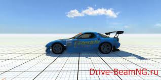 rx7 drift машина mazda rx7 drift для beamng drive скачать мод видео