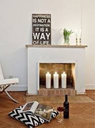 home interior candles 20 fireplace candle ideas home design and interior