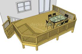Wood Deck Design Software Free by We Have 32 Different Deck Plans Sizes Of This Particular Design