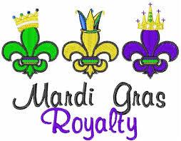 mardi gras royalty mardi gras royalty embroidery designs free machine embroidery