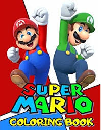 super mario coloring book coloring book super