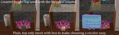 Undercounter Kitchen Storage Mod The Sims Kitchen Storage