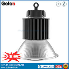 high bay light fixtures 200w led high bay light industrial warehouse lighting with motion sensor
