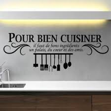 proverbe cuisine humour stickers salle a manger achat vente stickers salle a manger