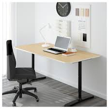 Office Desk Table Bekant Table Top Black Brown Ikea