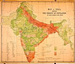 Population Density Map United States by Population Density Map Of British India According To 1911 Census