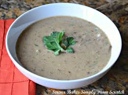 cream of mushroom soup from scratch gluten free serena bakes